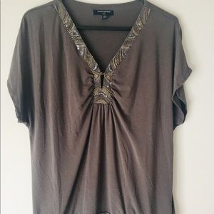 ⚡️SALE💥Banana Republic Gray Top SZ M